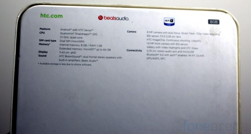 HTC Desire 600 Dual SIM Unboxing-3