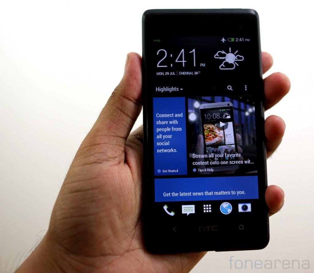 HTC Desire 600 Dual SIM Unboxing-8