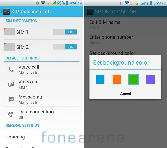 Intex Aqua i5 Dual SIM