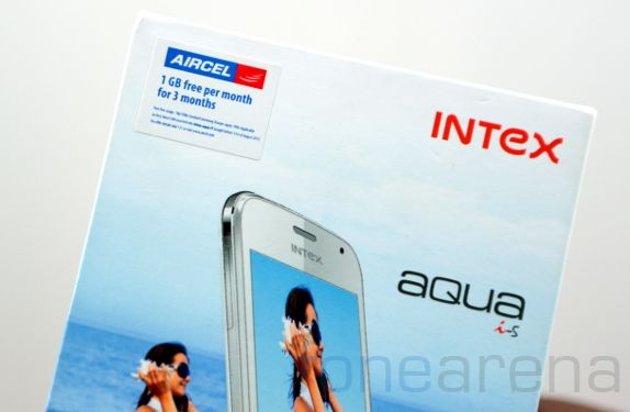Intex Aqua i5 Unboxing-11