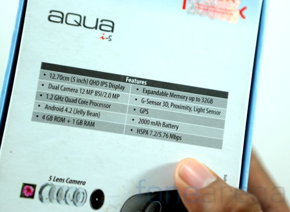 Intex Aqua i5 Unboxing-13