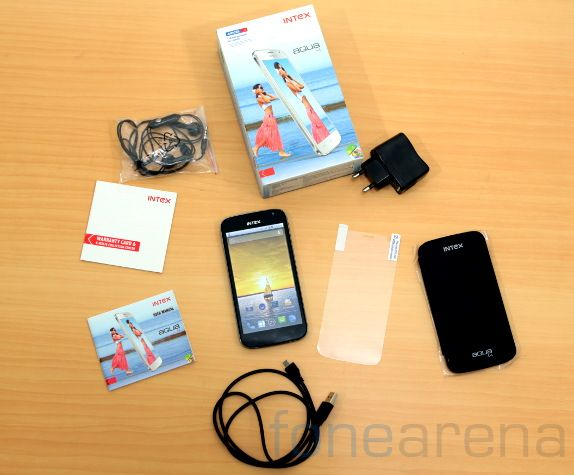 Intex Aqua i5 Unboxing-3