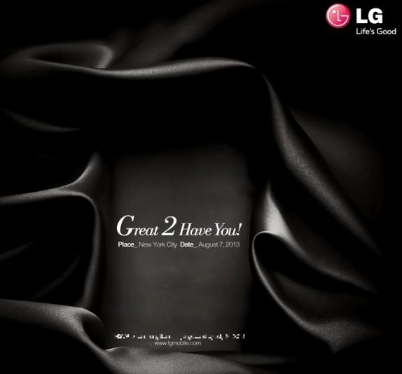 LG Nework event invite