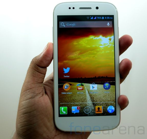 Micromax Canvas 4-1