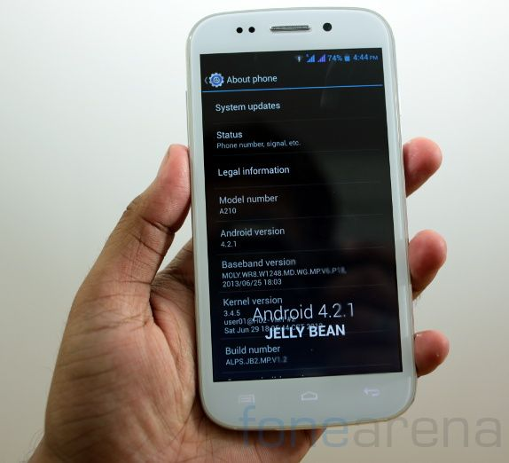 Micromax Canvas 4-16