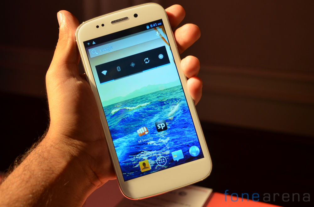 Micromax Canvas 4 A210 Hands On