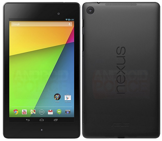 New Google Nexus 7 leak