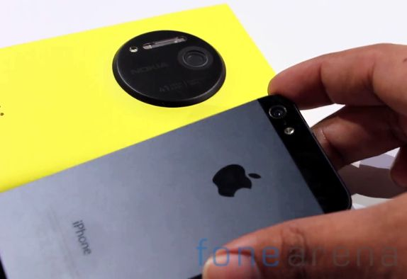Nokia Lumia 1020 vs Apple iPhone 5-2