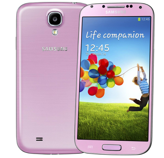 Samsung Galaxy S4 Pink Twilight