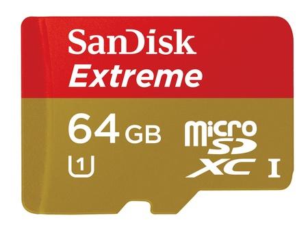 SanDisk Extreme microSDXC UHS-I Memory Card
