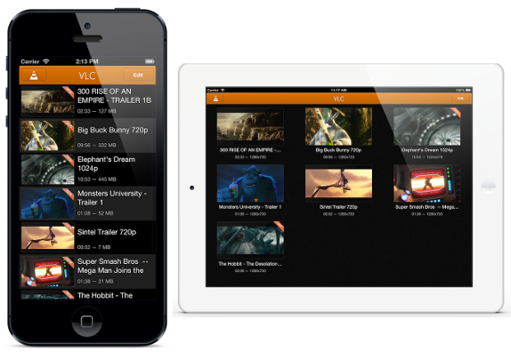 VLC 2.0 for iPhone and iPad