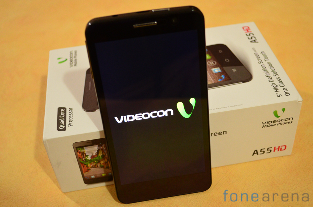 Videocon A55HD Review