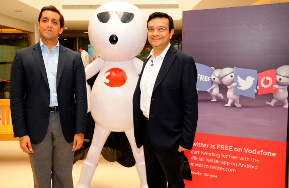 Vodafone and Twitter partnership India