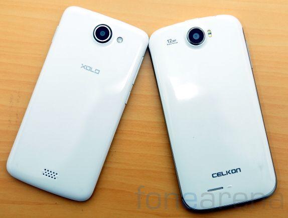 Xolo Q1000 vs Celkon A119Q-7