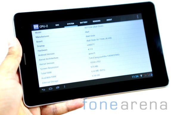 iBall Slide 3G 7334i Benchmarks-1