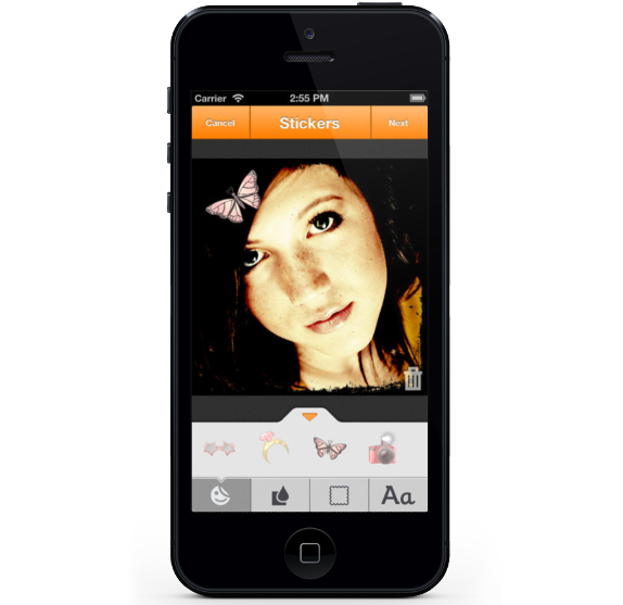 Nimbuzz Messenger for iPhone 3.3.1 Stickers