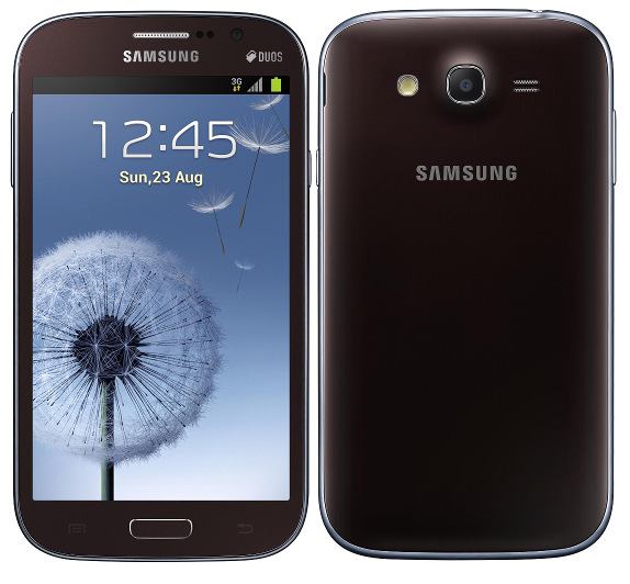 samsung galaxy grand duos now available in brown and red