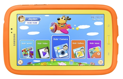 Samsung Galaxy Tab 3 Kids with 7-inch display announced
