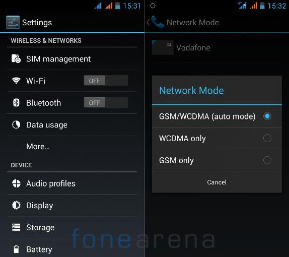 Xolo Q600 Connectivity