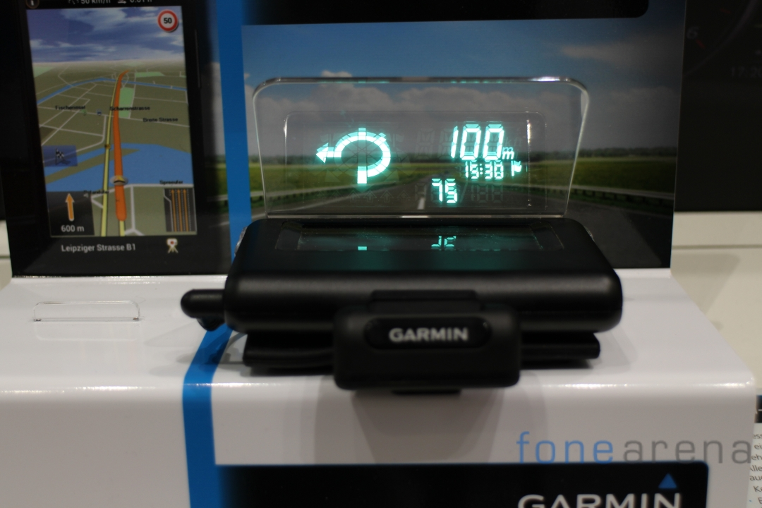 Garmin-HUD-Display