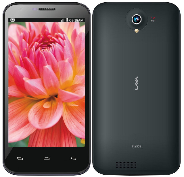 Lava Iris 505 and Iris 506Q with 5-inch display, Android 4.2 now ...