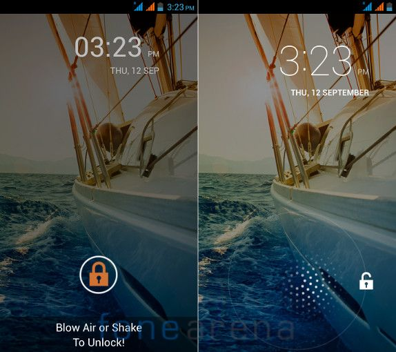 Micromax Canvas Doodle 2 M Unlock and Lockscreen