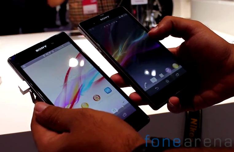 Sony Xperia Z1 vs Xperia Z