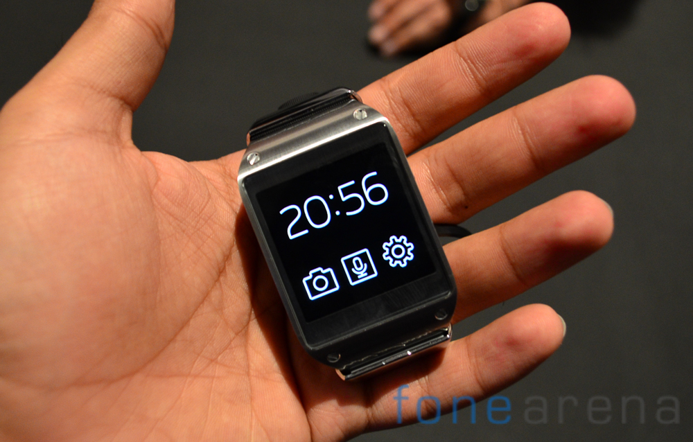 Samsung Galaxy Gear Manager update lets you display all