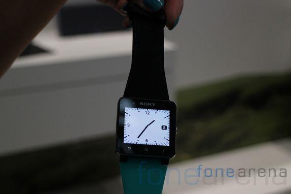 Sony SmartWatch 2 Hands-on