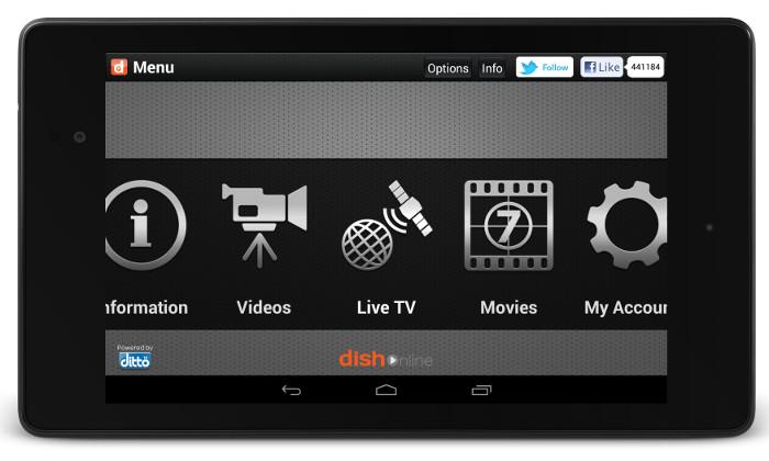 App DishTV - LIVE TV MOVIES VIDEOS APK for Windows Phone