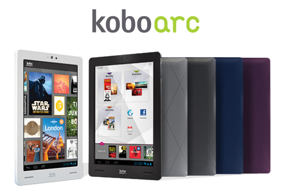 Kobo arc with 7 inch display android 4 1 launched in for Housse kobo arc 7