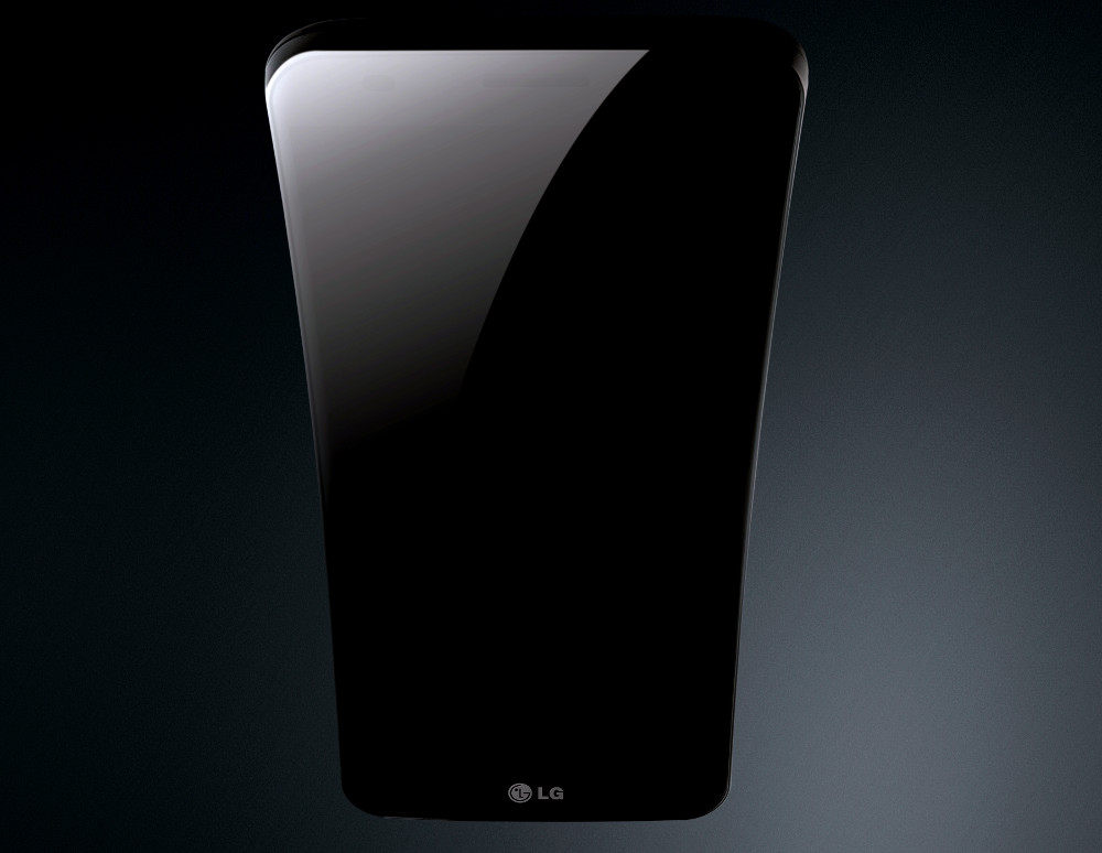 LG G Flex with 6-inch Curved OLED display press images surface