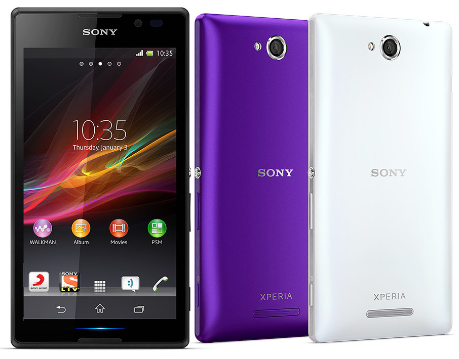 Xperia C Specification Sony Xperia C Dual SIM Android