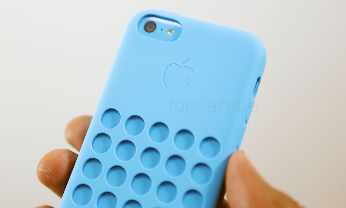 Apple iPhone 5c official case unboxing