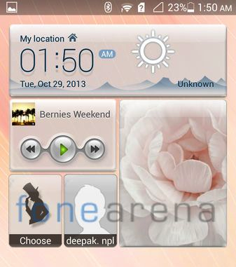 huawei ascend p6 review me widget