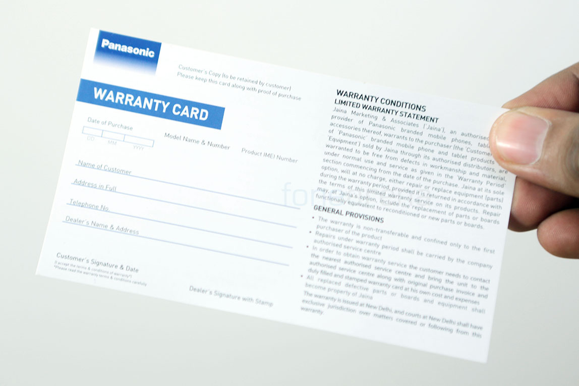 Panasonic P11 Unboxing