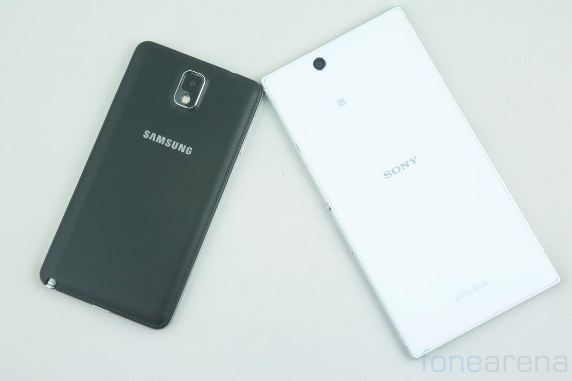 Samsung Galaxy Note 3 vs Sony Xperia Z Ultra | Best ...