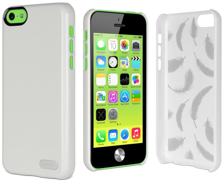 Cygnett Form Hard Plastic case for iPhone 5C