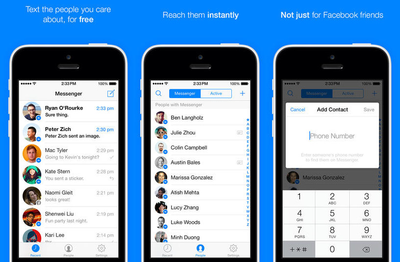 facebook messenger 3 0 for iphone brings a new design and