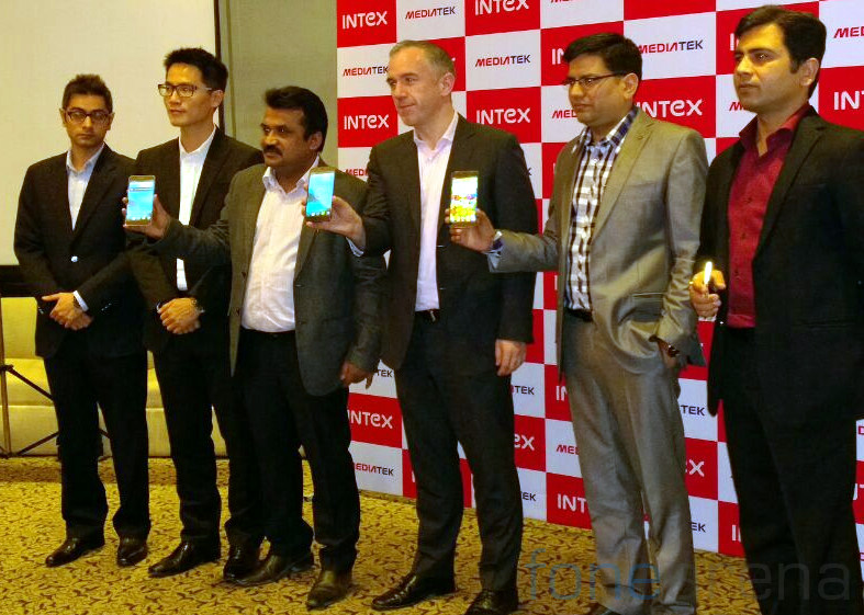 Intex i17 launch