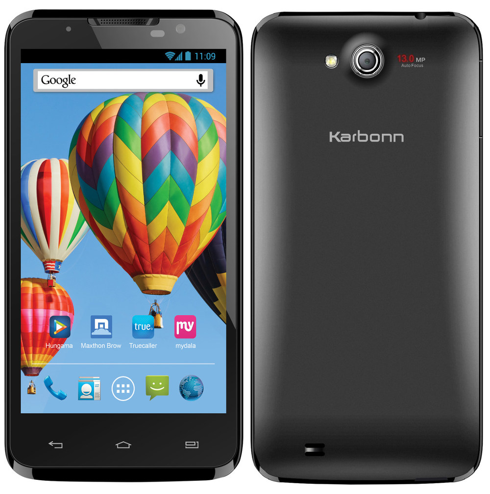 Phone Karbonn All Android Phone karbonn titanium s7 with 5 inch full hd display up for pre order online at rs 14999