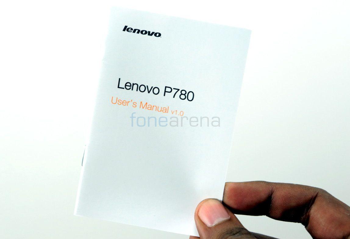 Lenovo P780 Unboxing-5