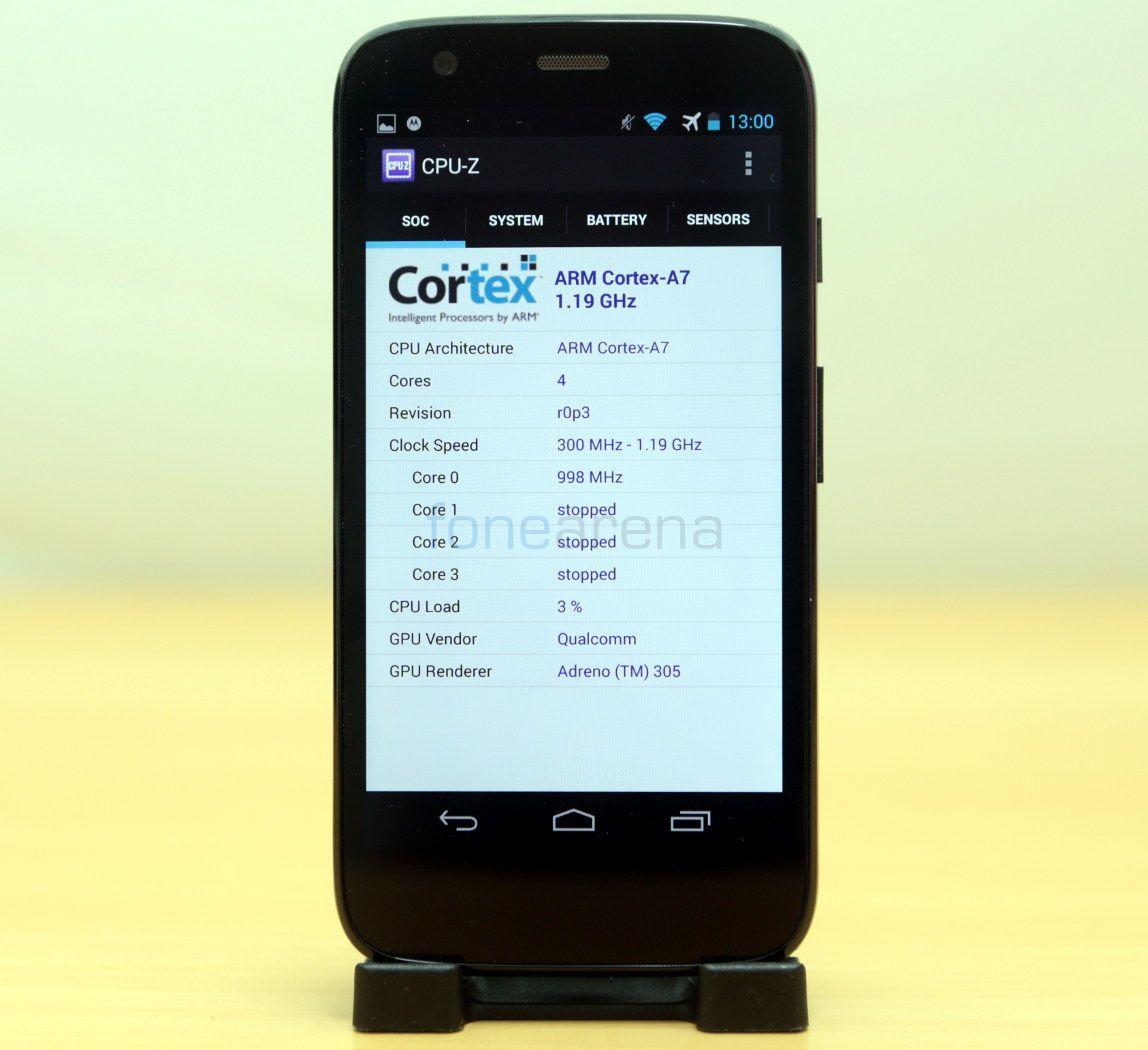 Motorola Moto G Benchmarks