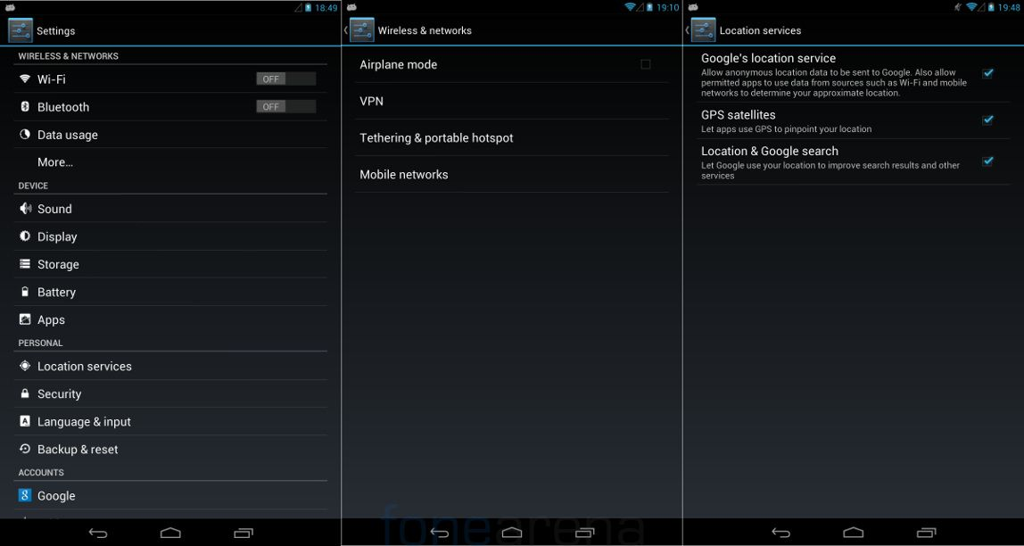 Xolo Play Tab 7.0 Connectivity