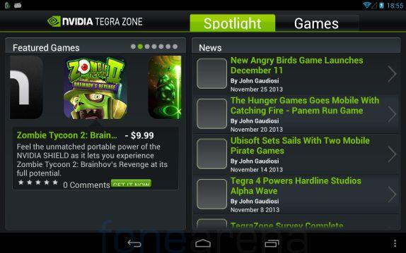 Xolo Play Tab 7.0 NVIDIA Tegra Zone