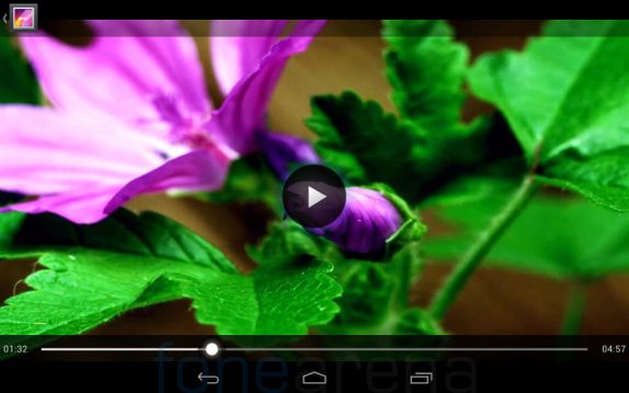Xolo Play Tab 7.0 Videoplayer