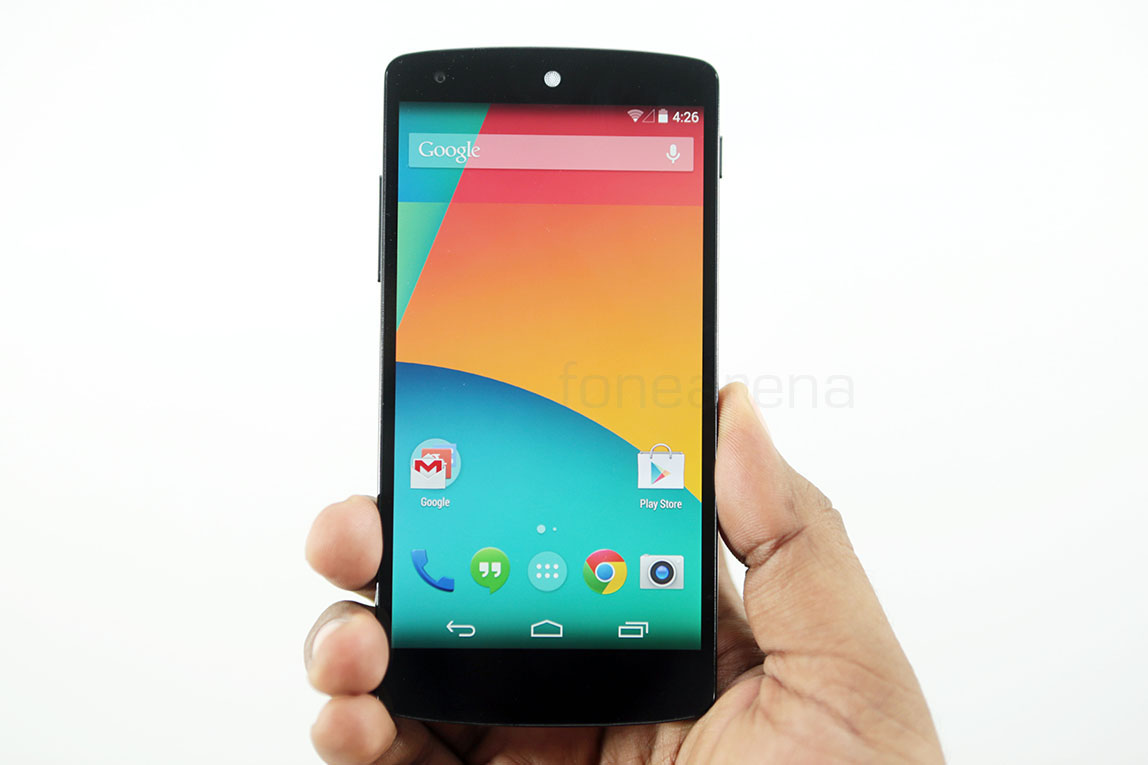 Google nexus 5 unboxing for Goodl