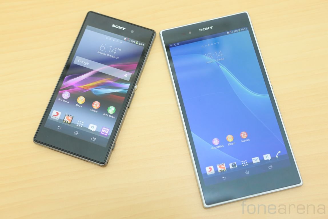 was super features of sony xperia z1 ultra 2048 1536 resolution