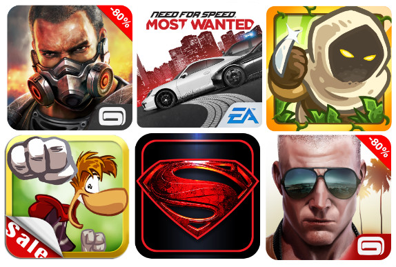 Holiday Sale: Modern Combat 4, NFS Most Wanted and more Android games ...