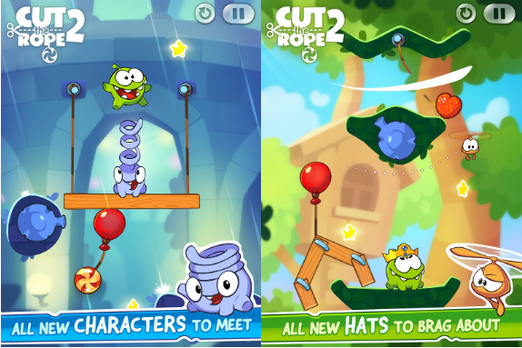 Cut The Rope 2 Released For